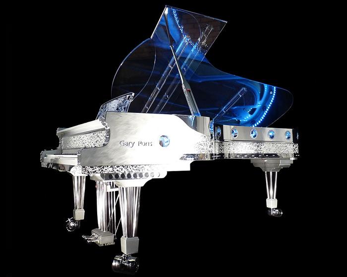 Transparent Pianos