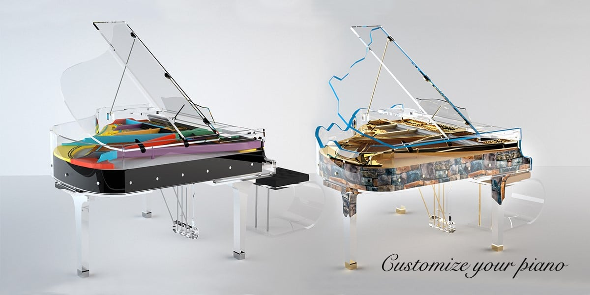 Customize your piano