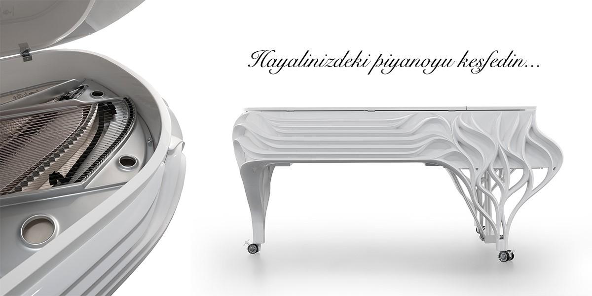 Fazioli Butterfly Özel Tasarım Piyano
