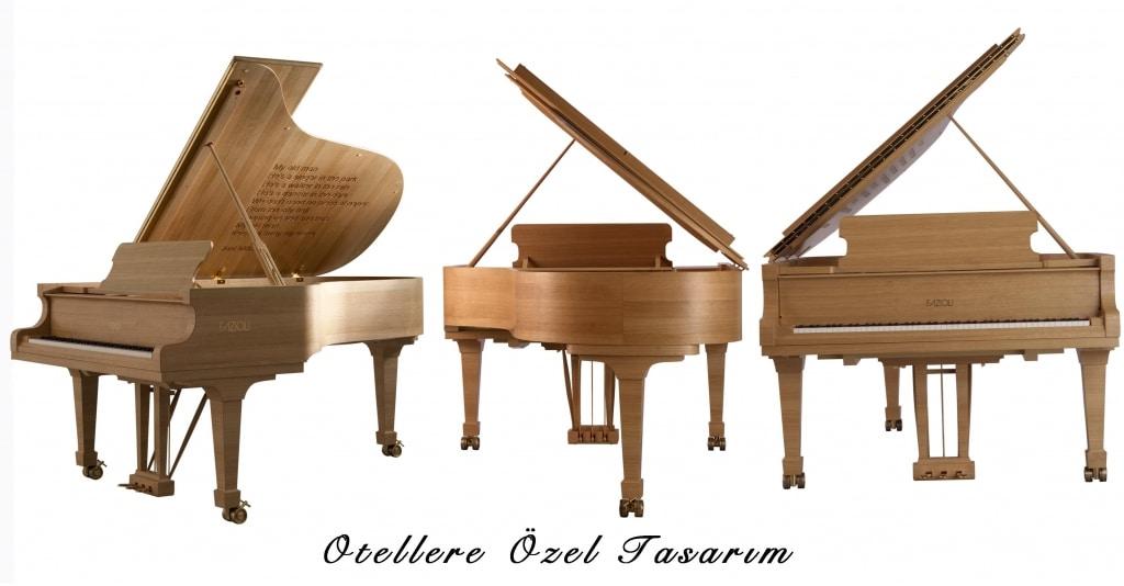 Otel için tasarım Piyano