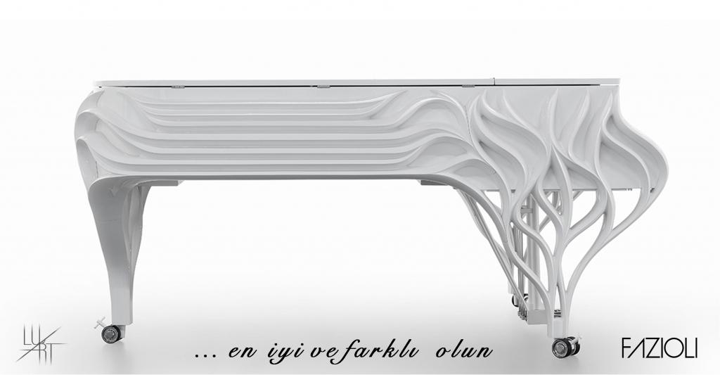 Özel Tasarım Piyanolar